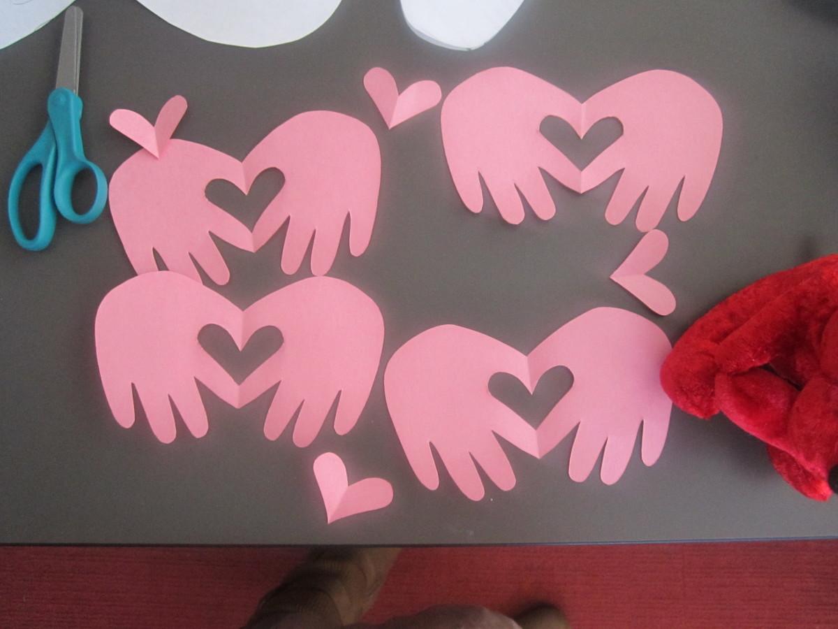Little hands valentines