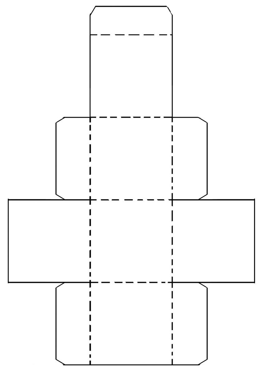 photo about Printable Dovetail Template named Printable Paper Creating Templates