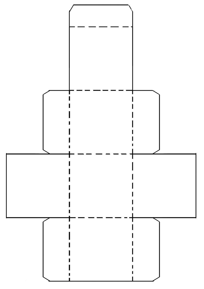 Paper Block Template