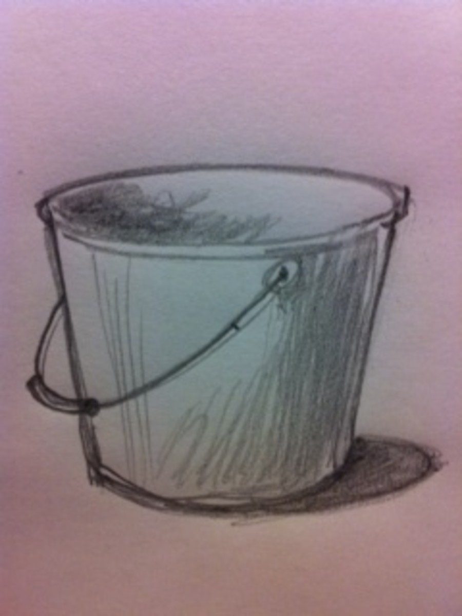 How to Draw a Bucket