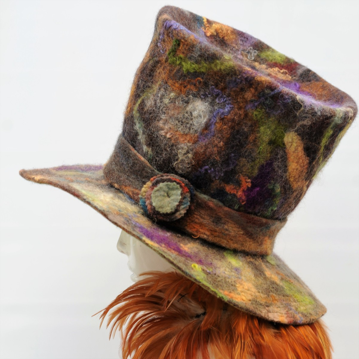 Side view of the Mad Hatters Top Hat