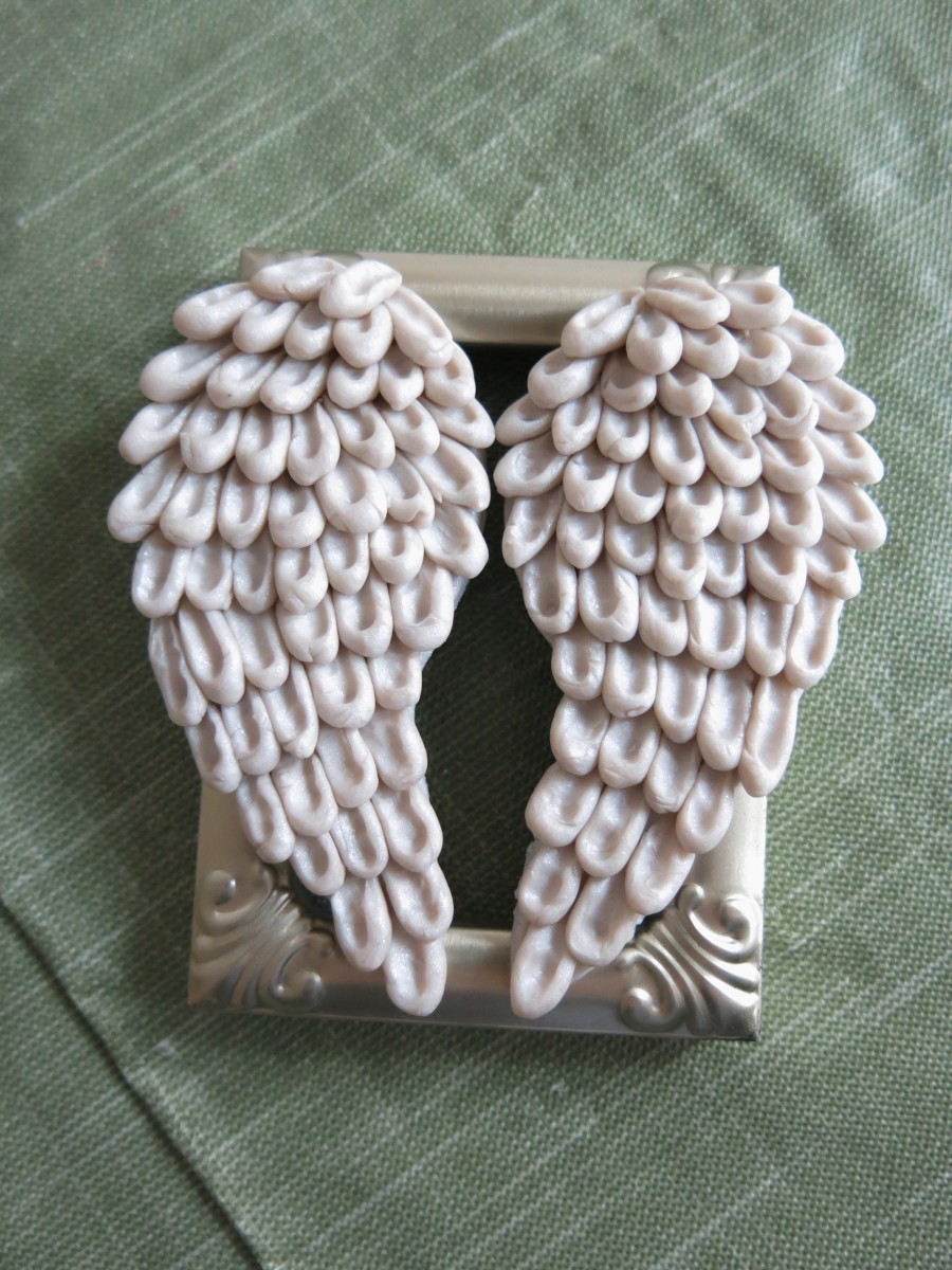 Assembling Your Angel Wing Ornament