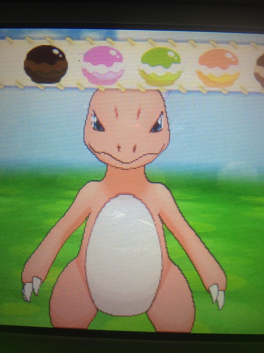 The Poké Puff Menu in Pokémon-Amie
