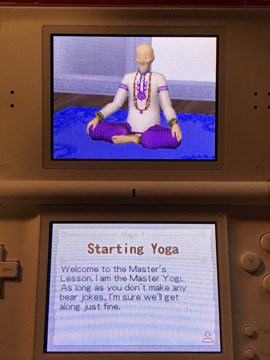 The first Master Lesson in Let's Yoga.
