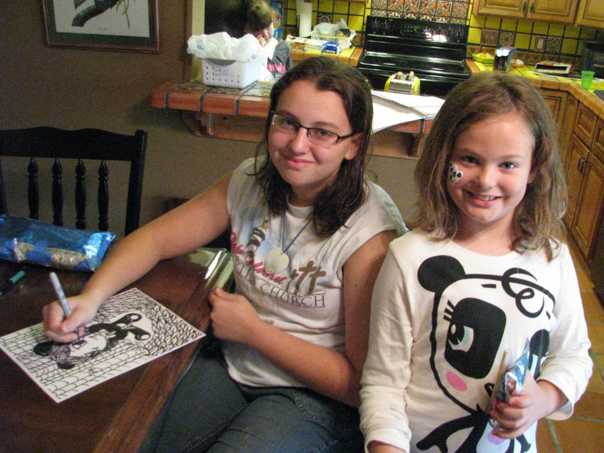 Older siblings can help plan and decorate for a younger siblings home party.