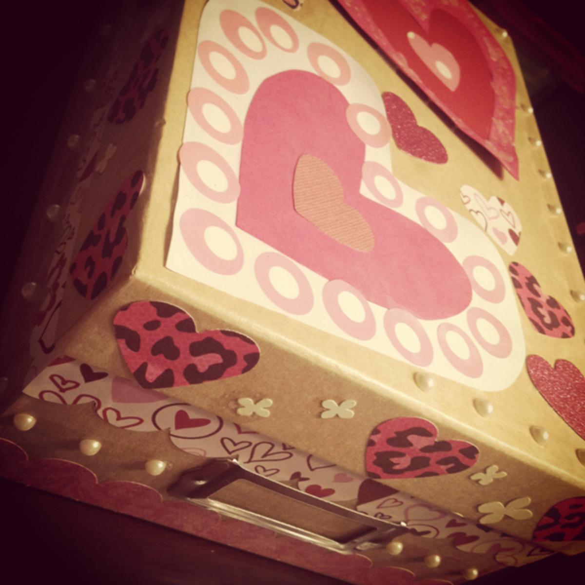 Valentine Memory Box