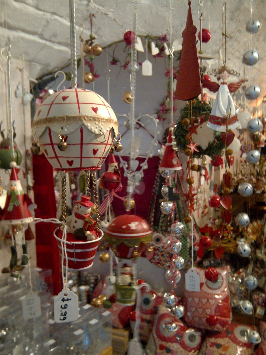 At this time of the year the shops of full of things to entice us - but can we afford them, and do we need them?