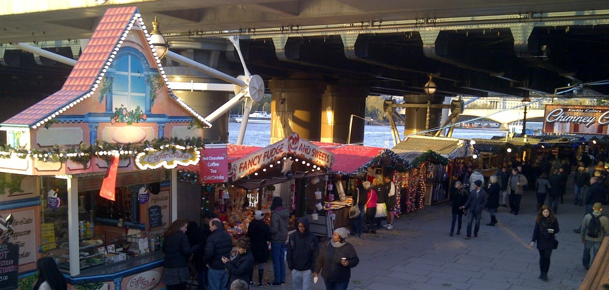 Christmas markets are great fun ... but probably not the best place to do your bulk festive and last minute shopping. However, they are fantastic for lovely 'extras' to make Christmas special!