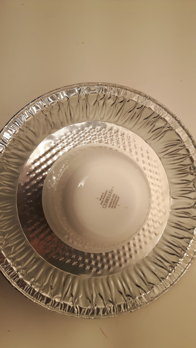 Use a Pie Tin to Shape Your Ring Dish