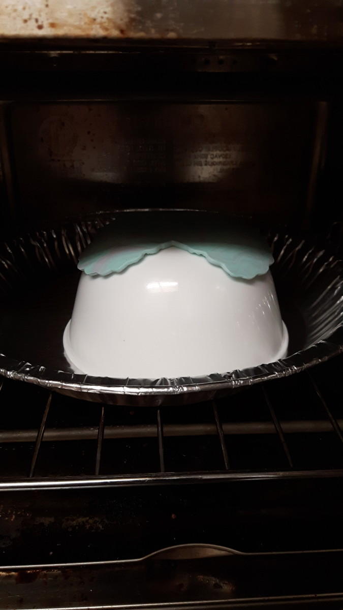 Carefully Place The Pie Plate, Bowl And Clay Into The Toaster Oven