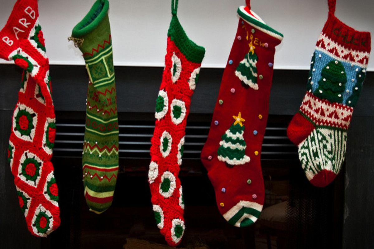 The stockings were hung.