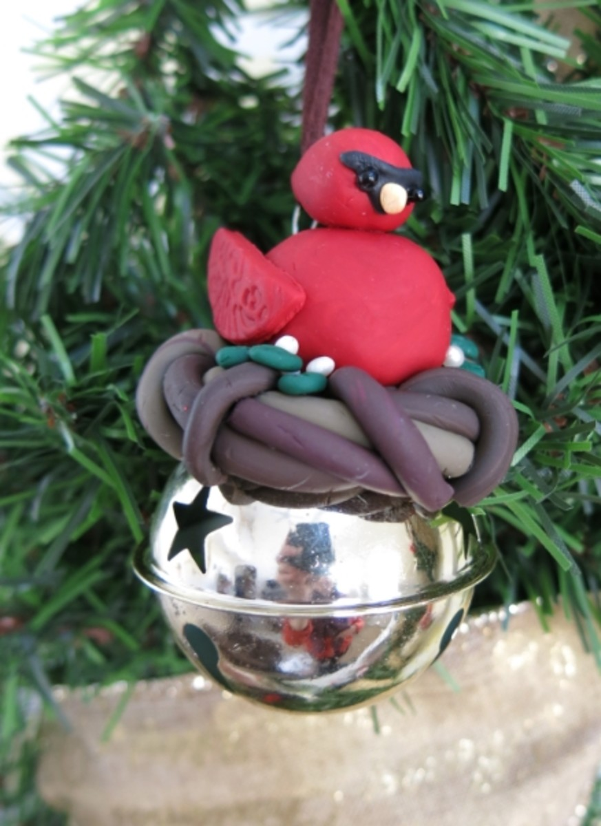 Baking Your Polymer Clay Bird