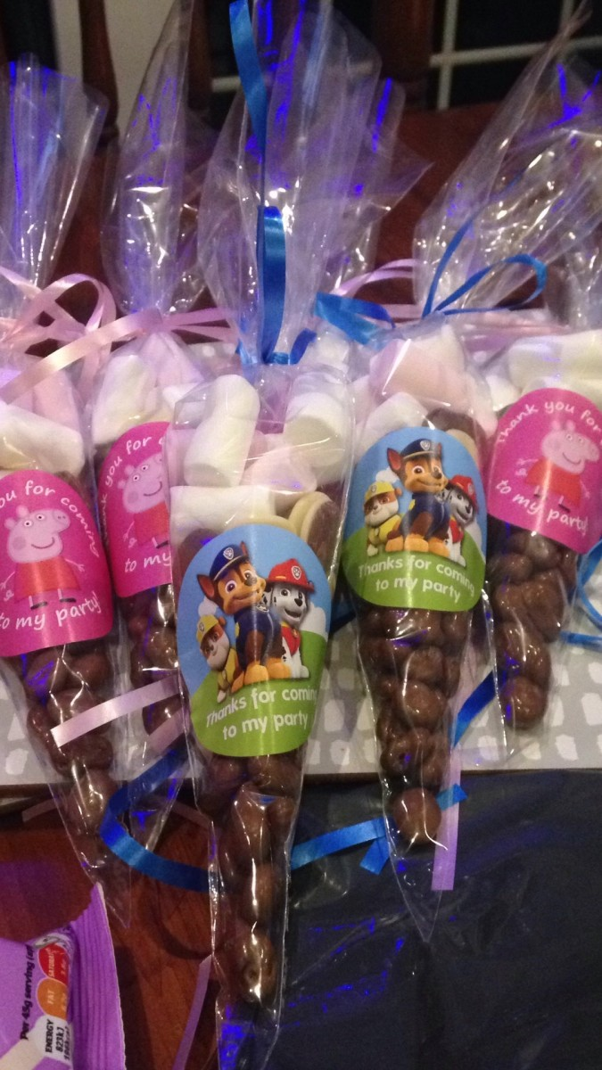 Sweet Cones for Birthday Parties