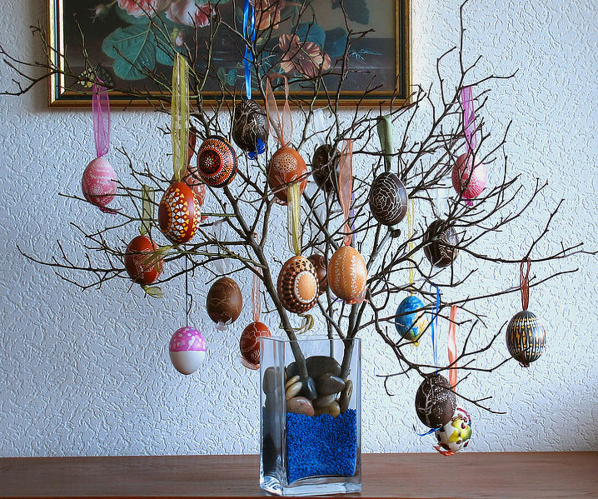 An Easter Tree.