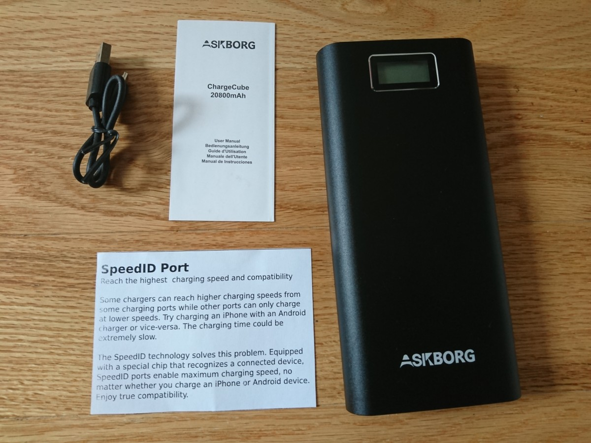 aukey power bank instructions