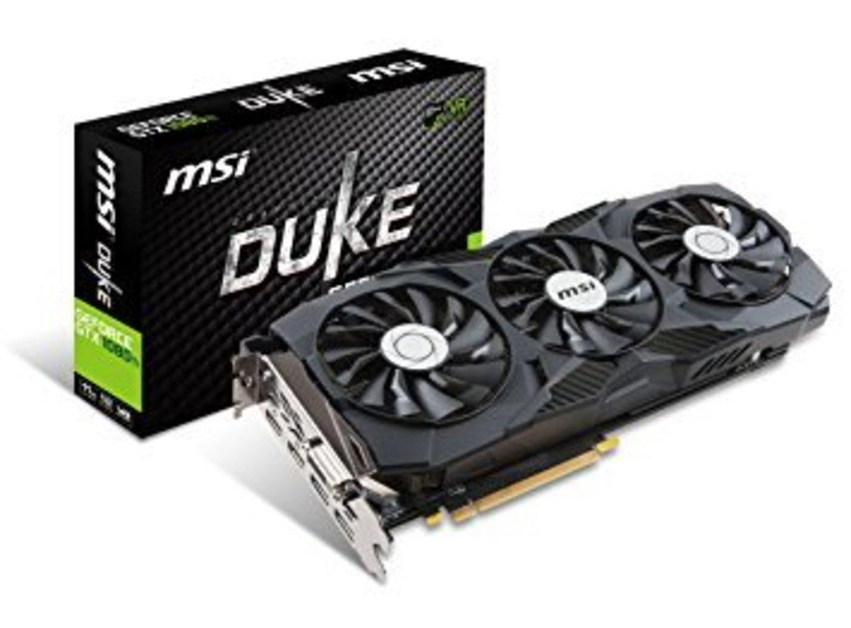 MSI GTX 1080 Duke