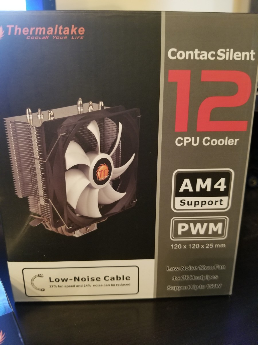 The $25 Thermaltake Contac Silent 12 CPU Cooler