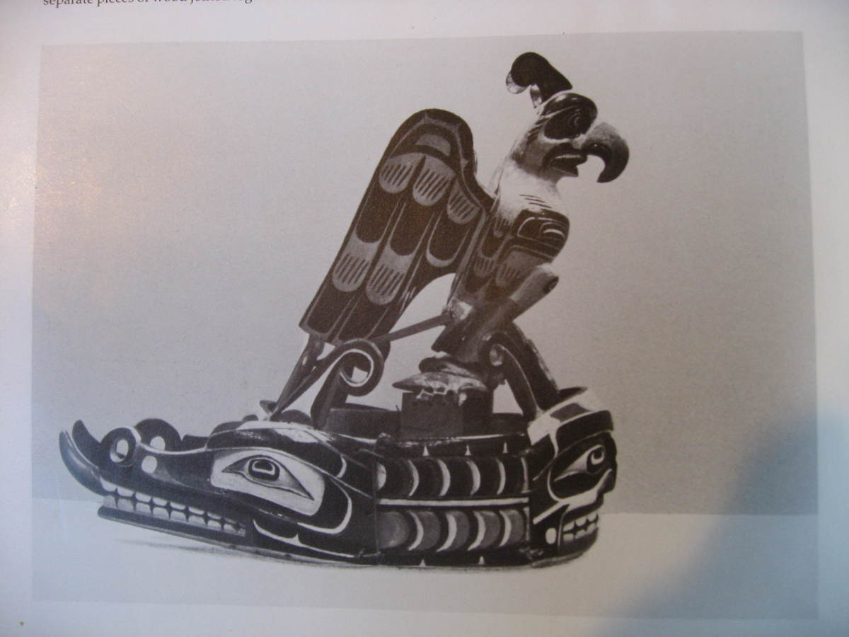 Double headed sea serpent crest with Kolus bird. This was worn by Jonny Scow and Bill Scow.
