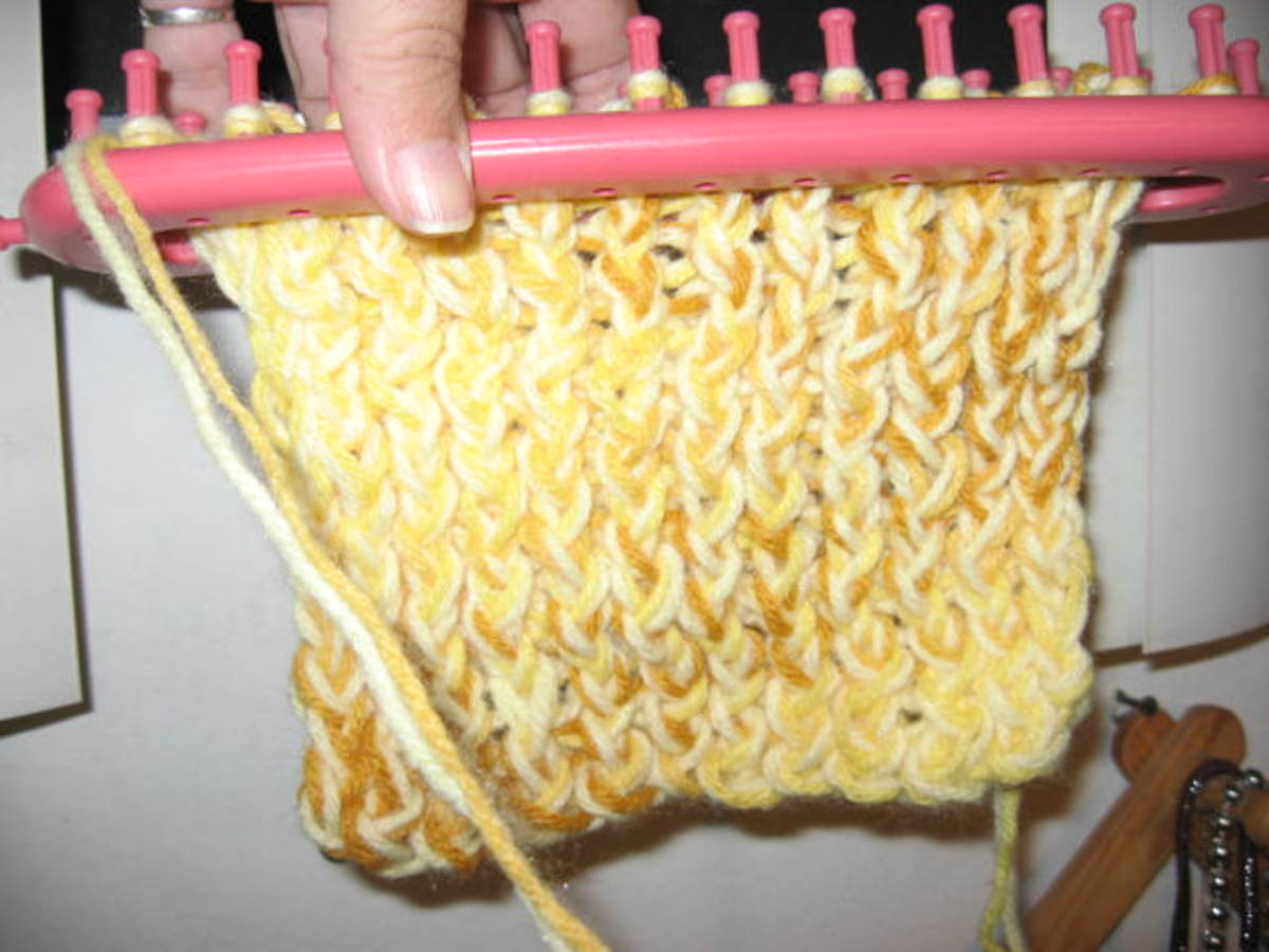Knifty Knitter Long Loom Series Instructions Hubpages