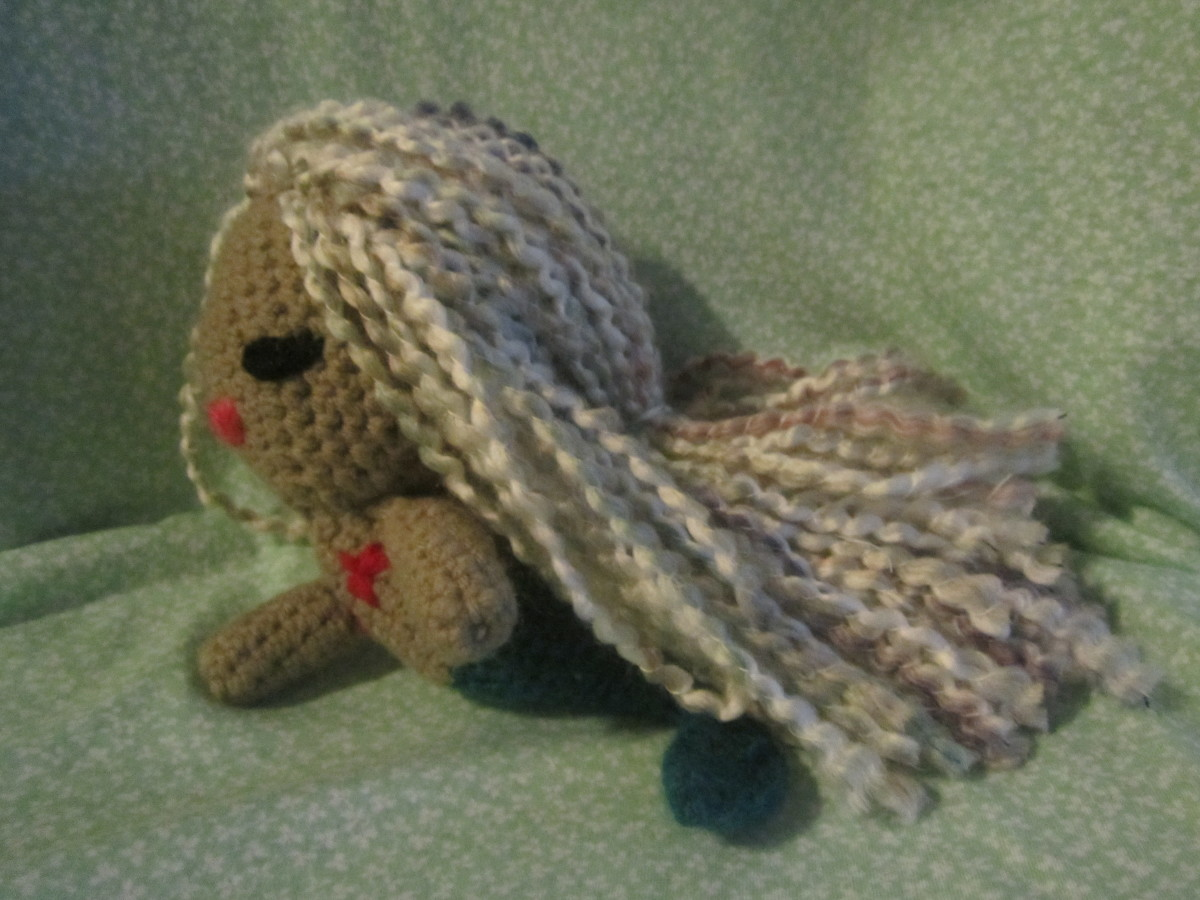 Amigurumi Mermaid Doll