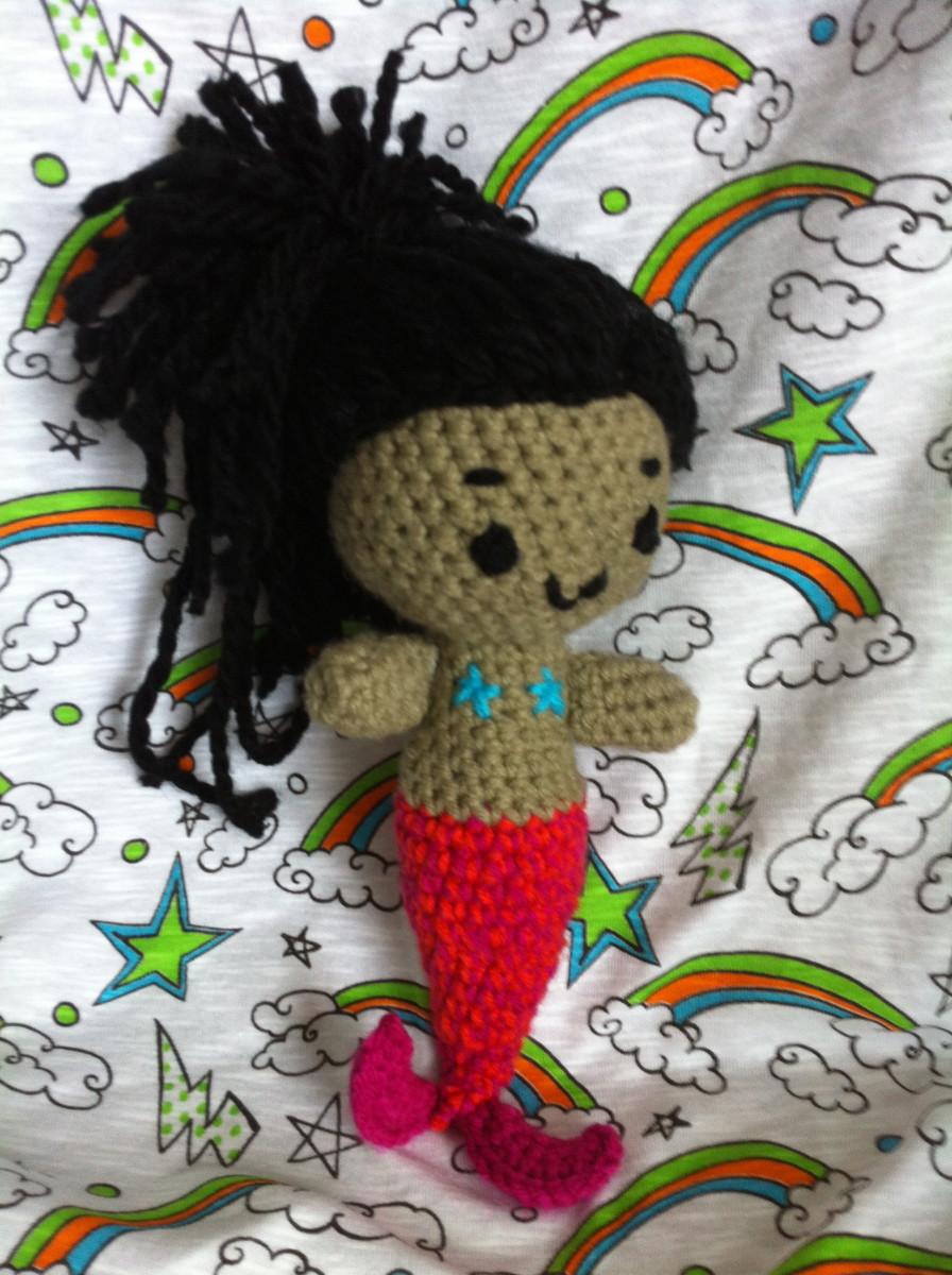 Mermaid Doll Amigurumi