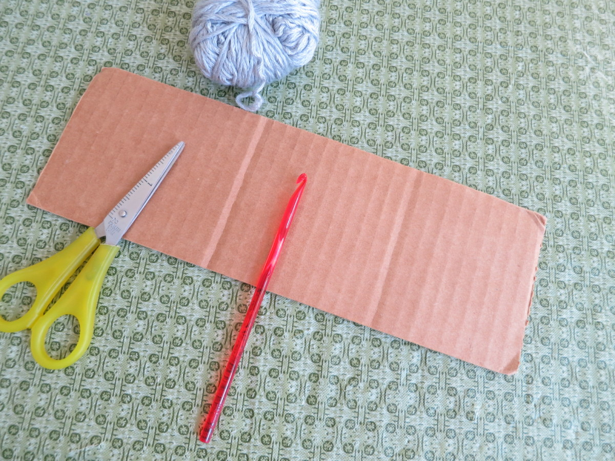 materials for making and attaching fringe