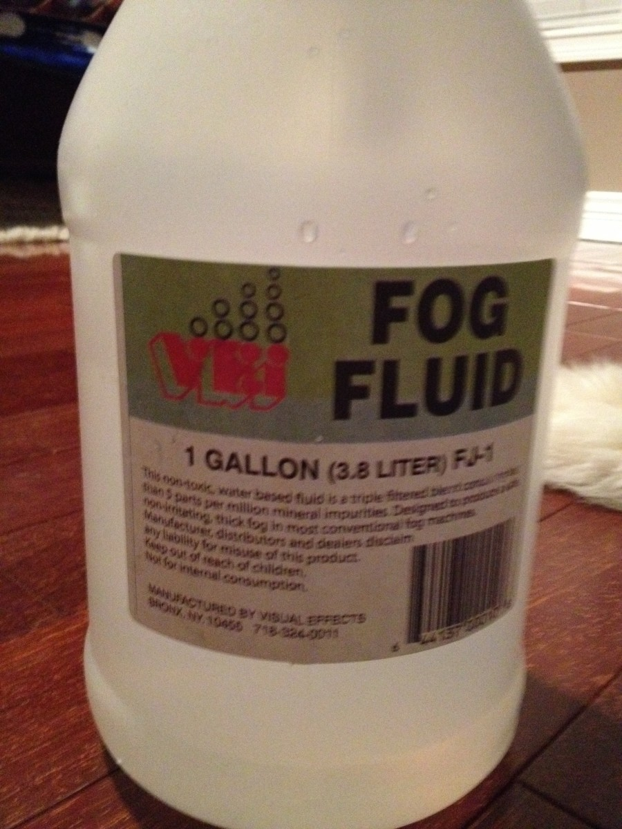 This is the brand of fluid I used to produce these videos and photos.