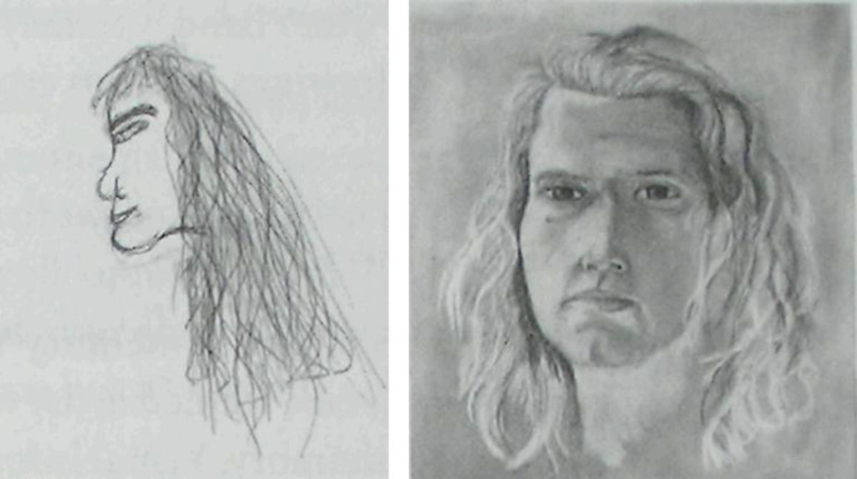 Learning To Draw By Using The Right Side Of Your Brain Feltmagnet