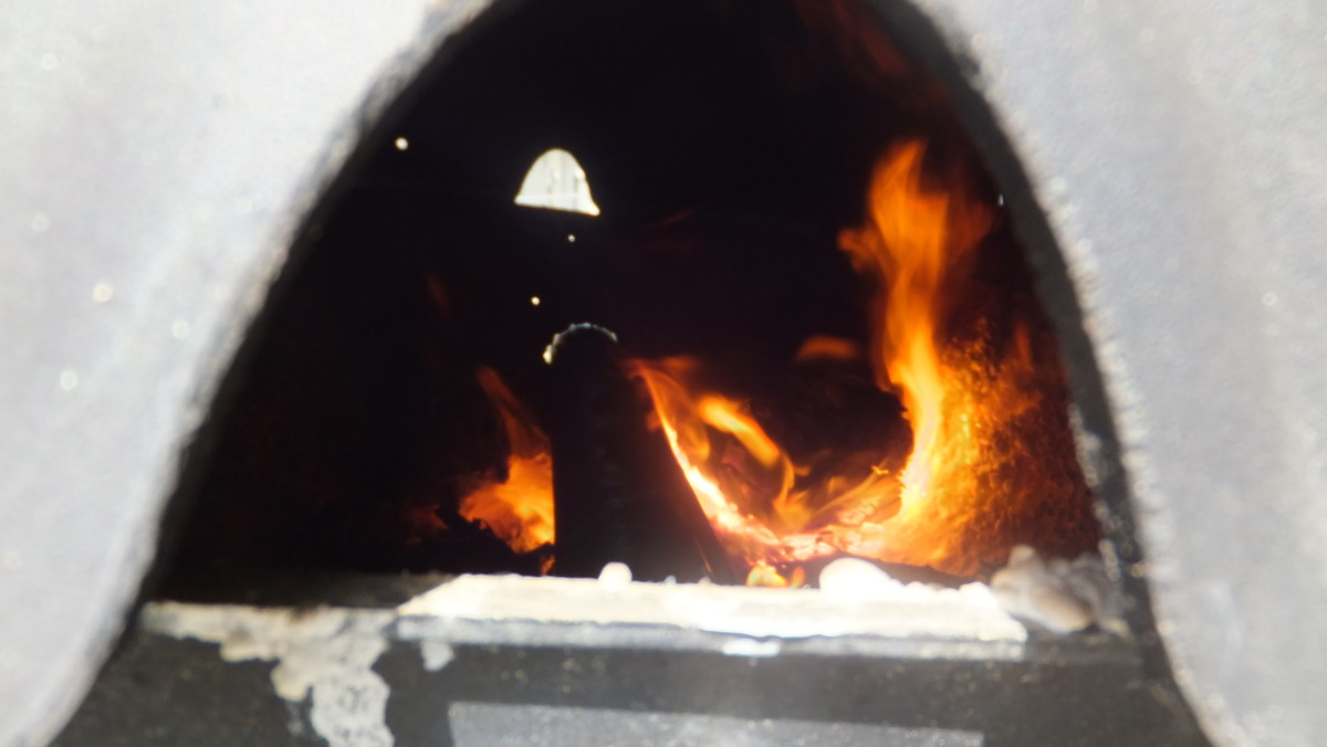 Firing a piece of steel