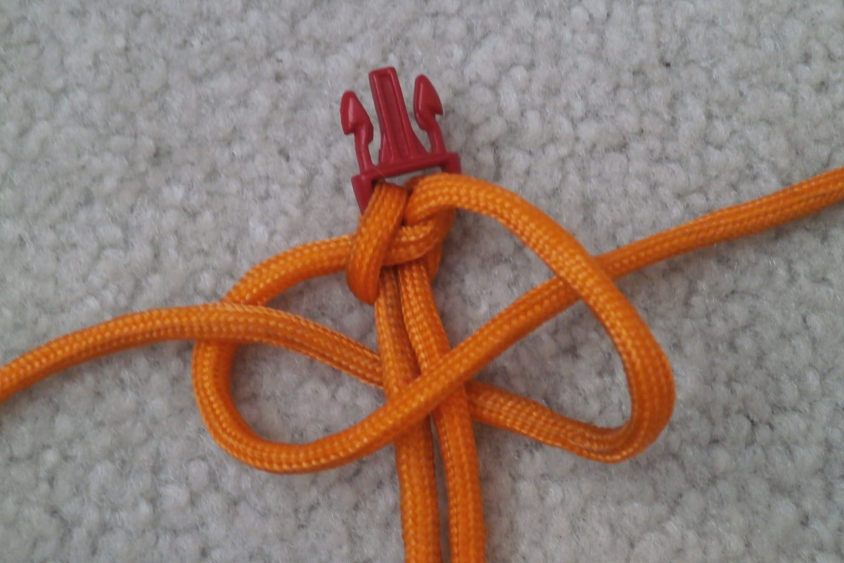 Arranging the 2nd knot
