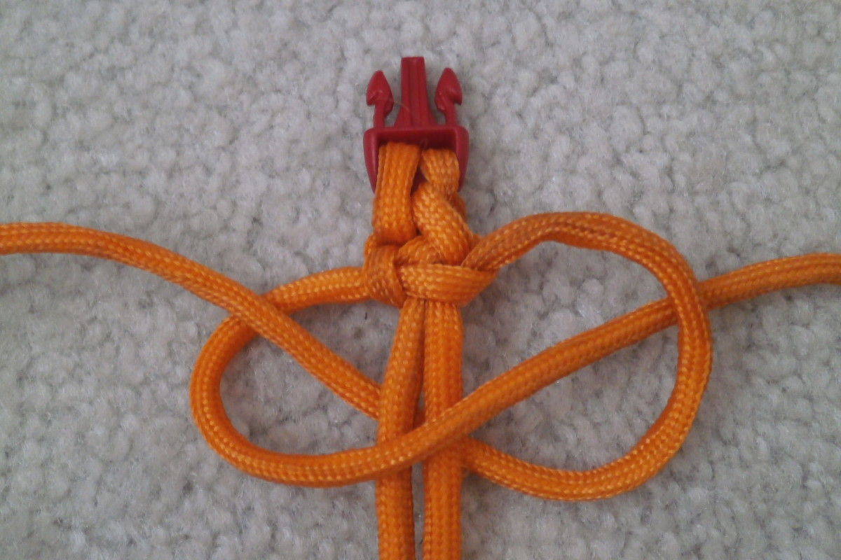 Arranging the 4th knot