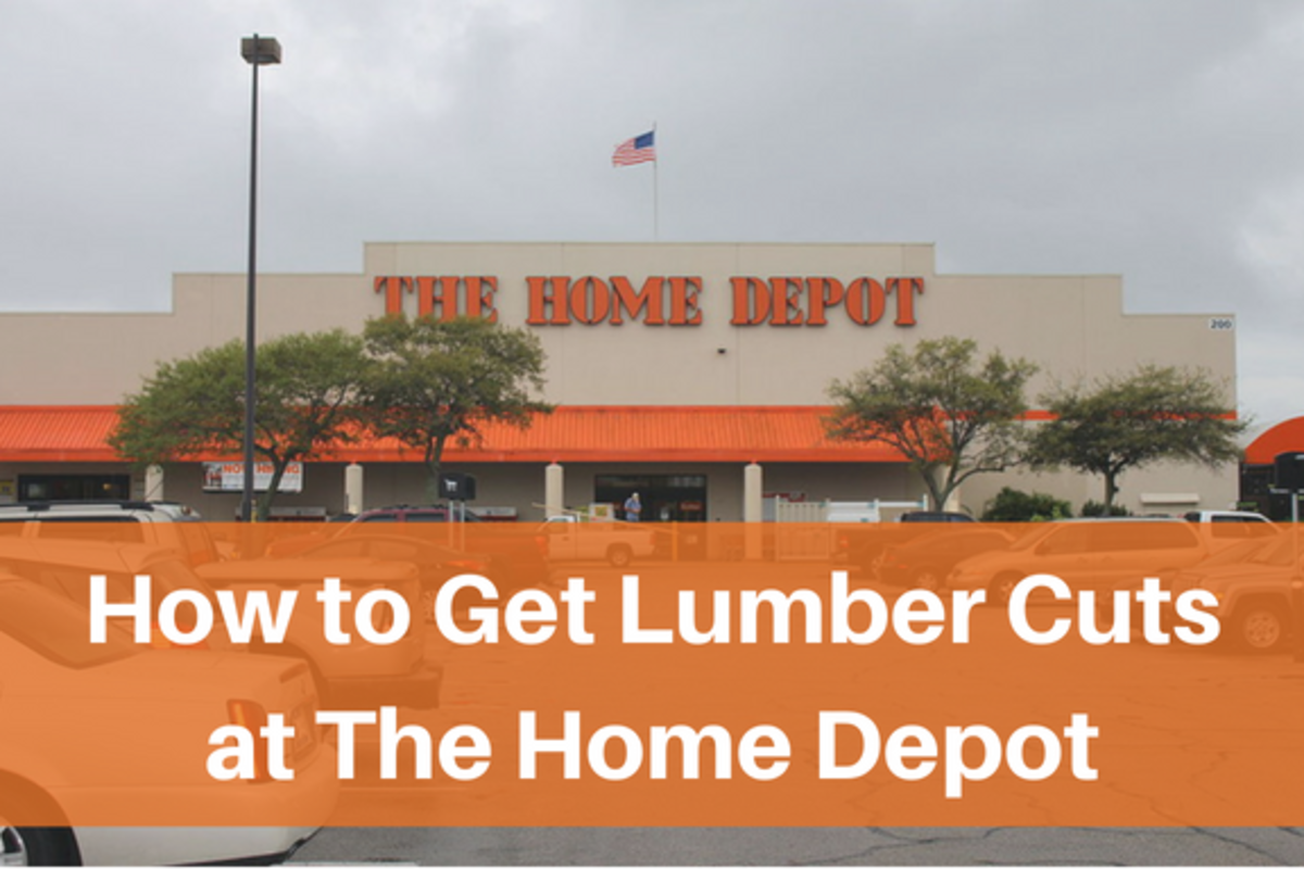 Learn how to get great wood cuts from Home Depot, whether it's your first time doing so or not!