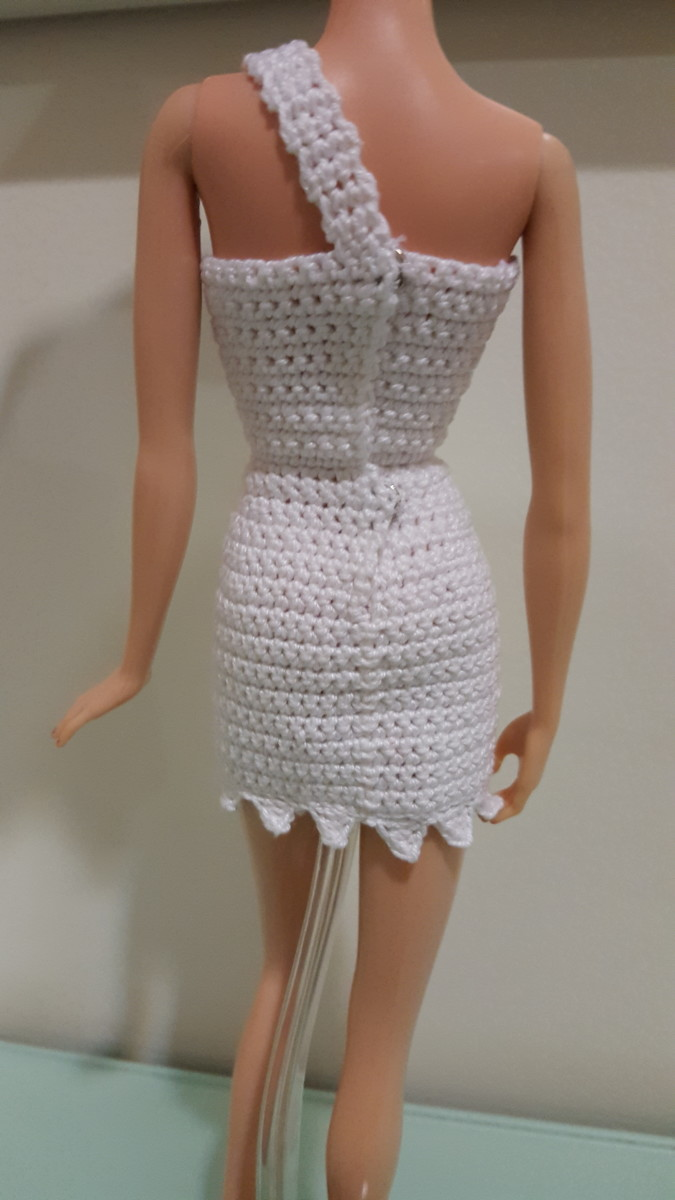 Back View of the Dress