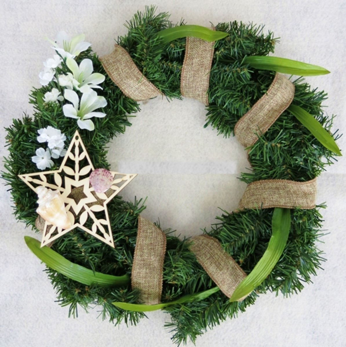 You can redecorate your Christmas wreaths with other materials to use all year long.