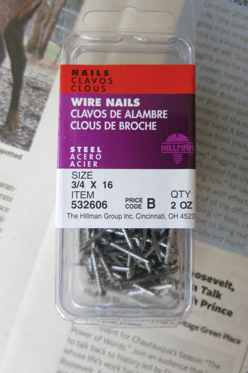 These are the nails I used.