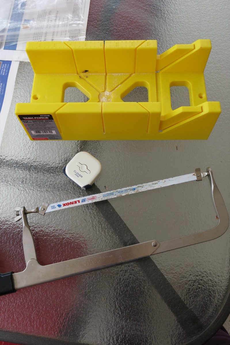 Materials for Framing a Stretched Artist Canvas