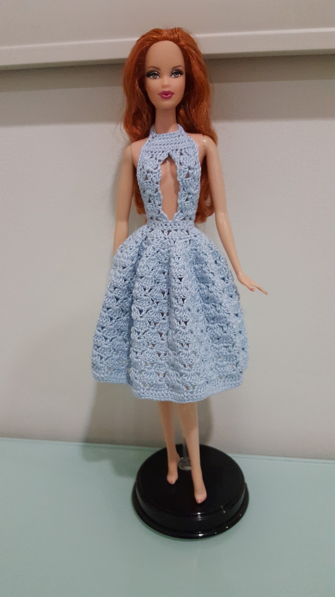 Front View of the Dress