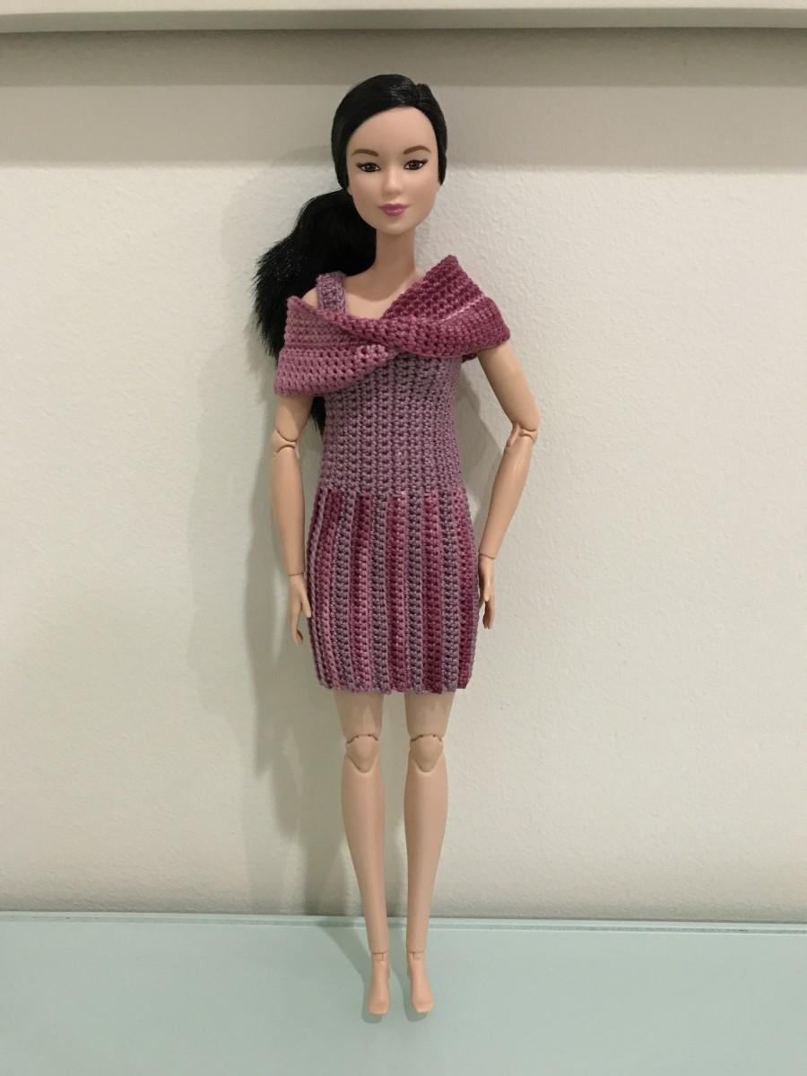 Barbie Mobius Shawl