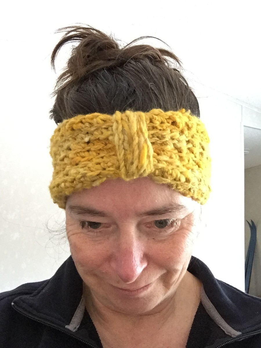 How to Crochet an Ear Warmer