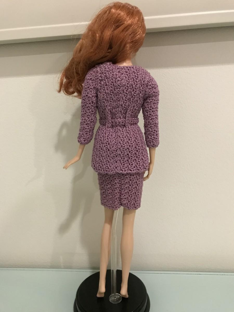 Barbie Long Blazer with Belt