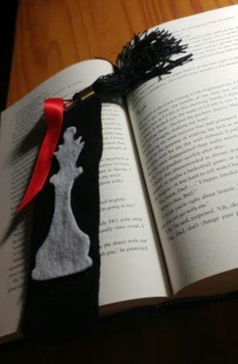 Enjoy your Breaking Dawn bookmark!