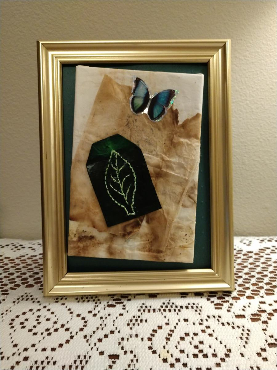 An Illustrated Guide to Tea Bag Embroidery