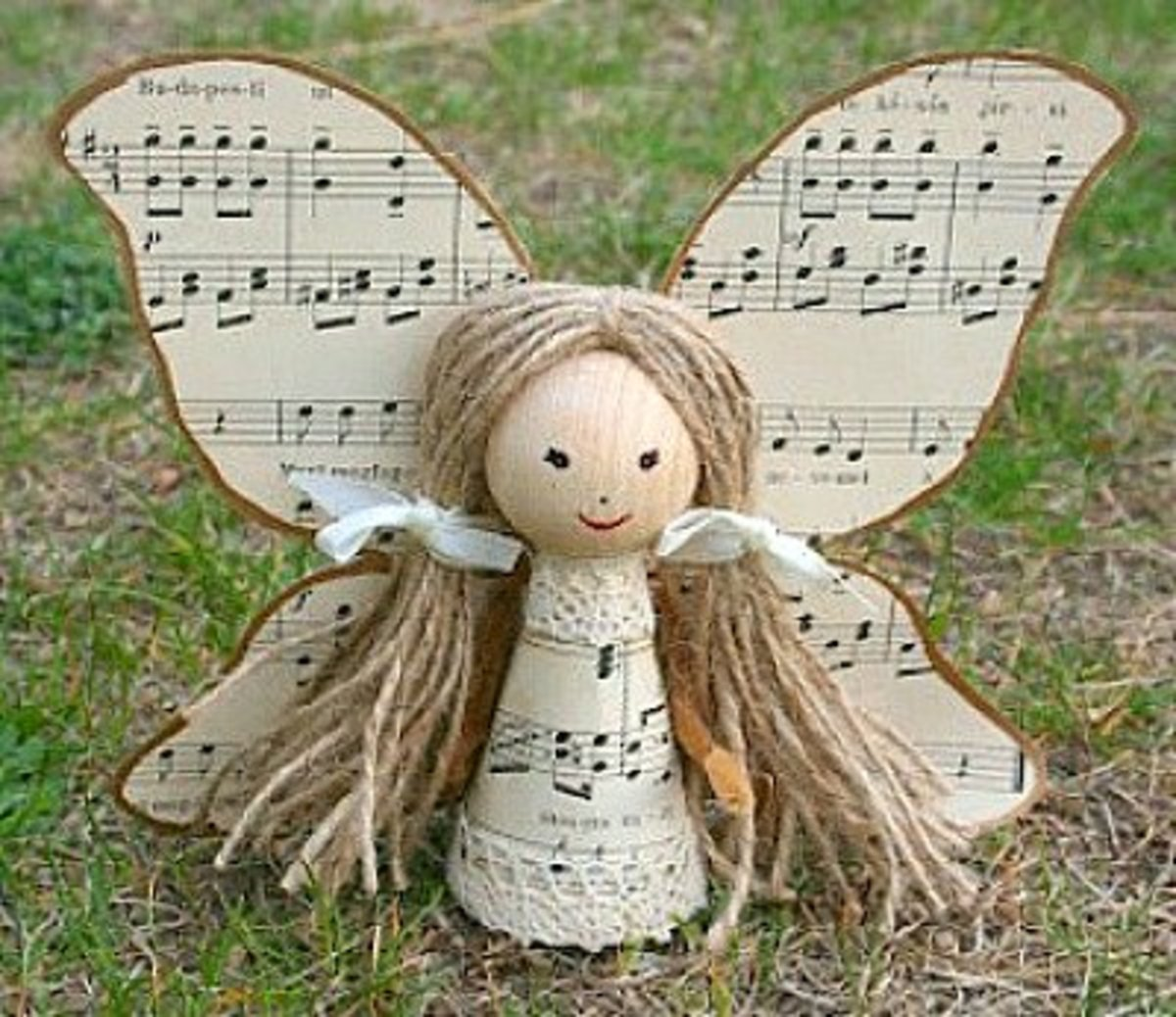49 Awesome Angel Crafts | FeltMagnet