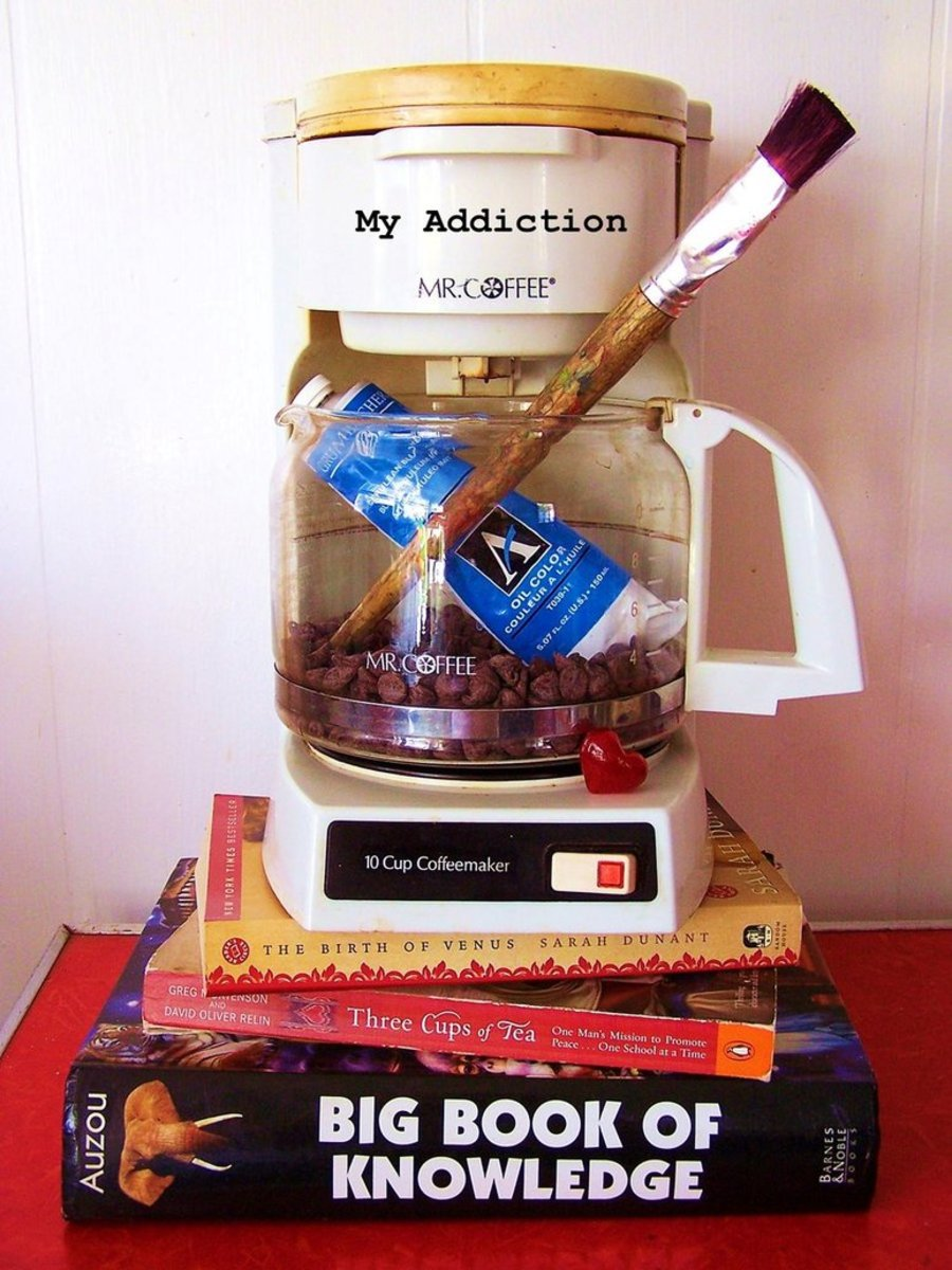"""""""Addictions."""" Have you ever tried to define yourself by using a still life of personal objects?"""
