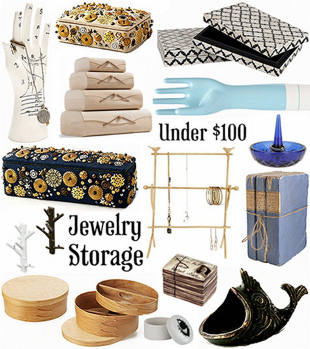 Check out these great jewelry storage options.