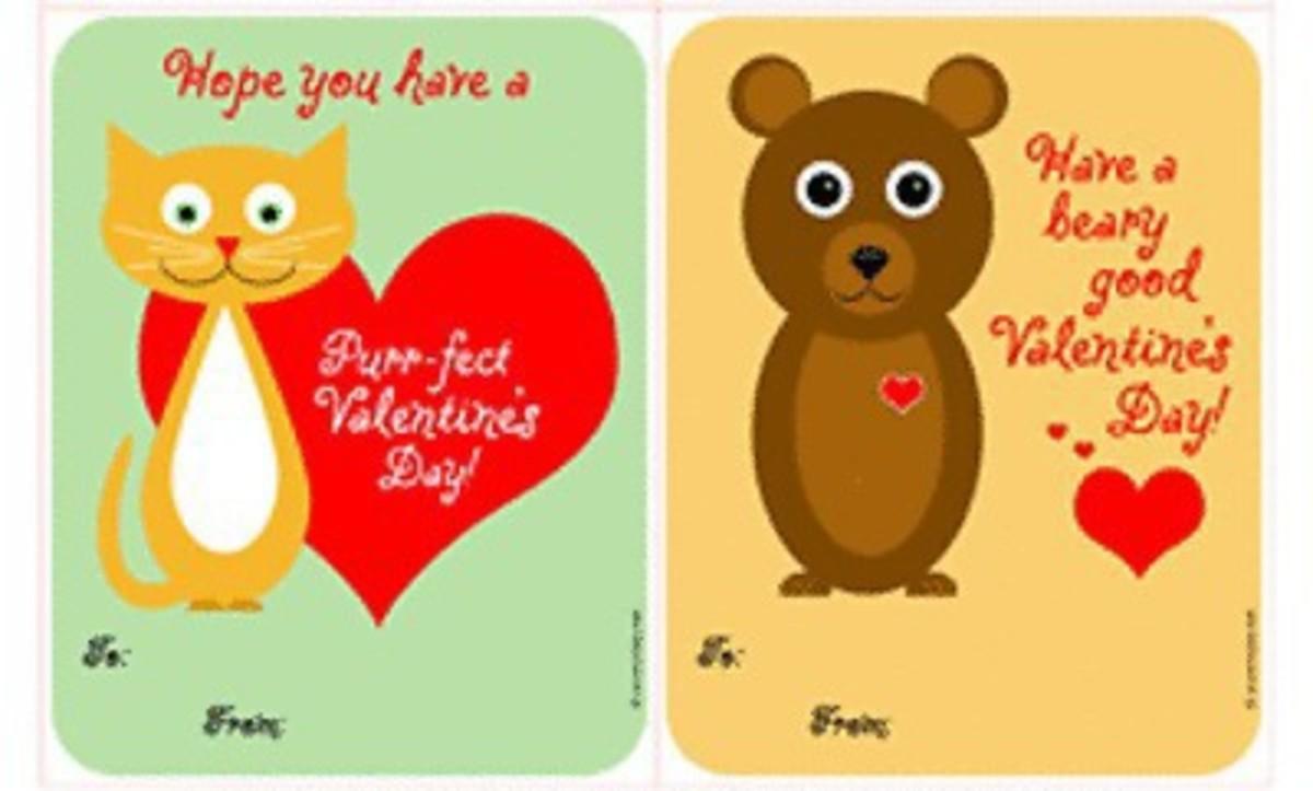 photograph relating to Printable Valentines Cards for Kids identify 21 Straightforward Home made Valentine Playing cards for a Faculty Substitute