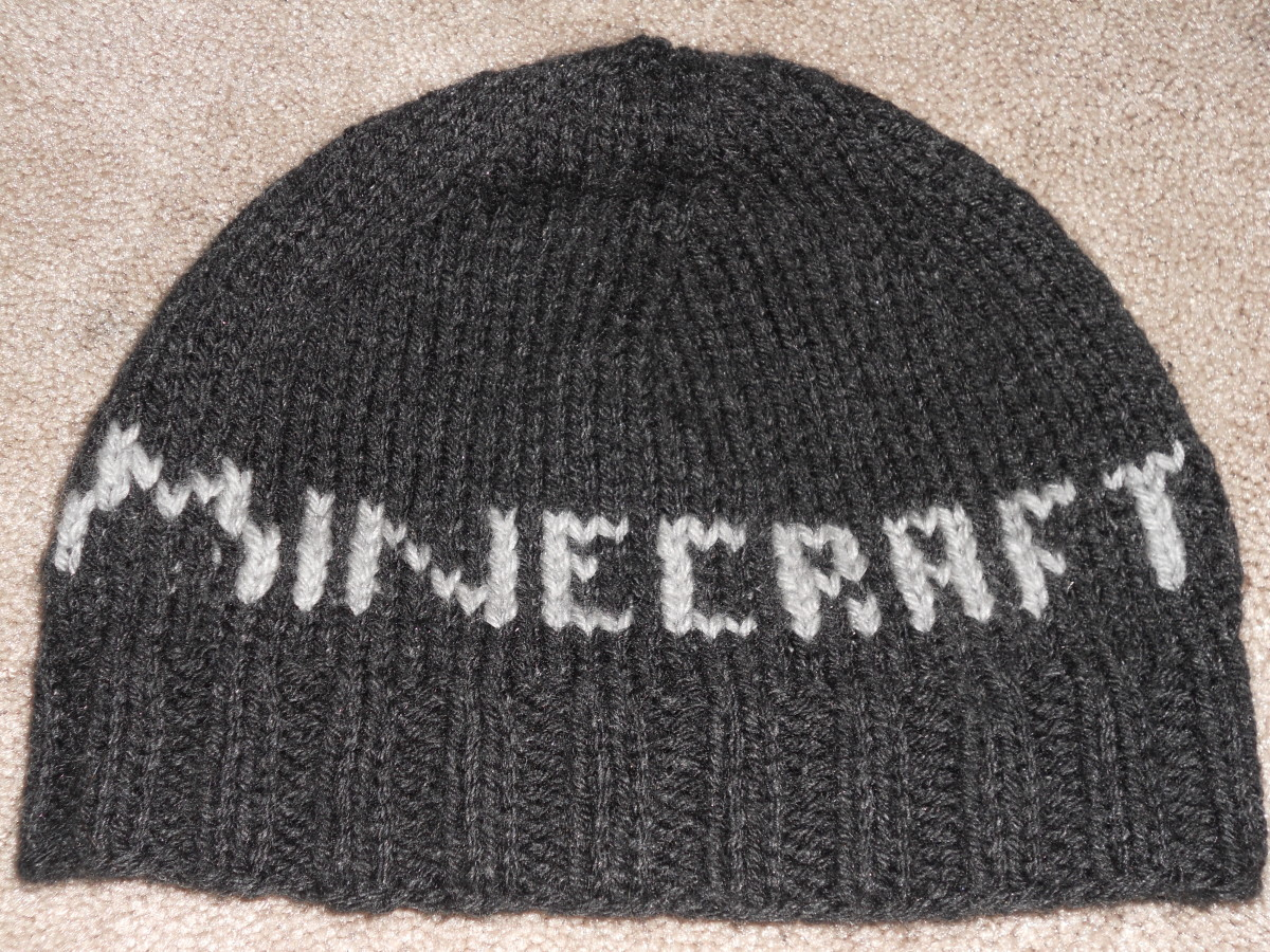 Free Minecraft Hat Knitting Pattern hubpages