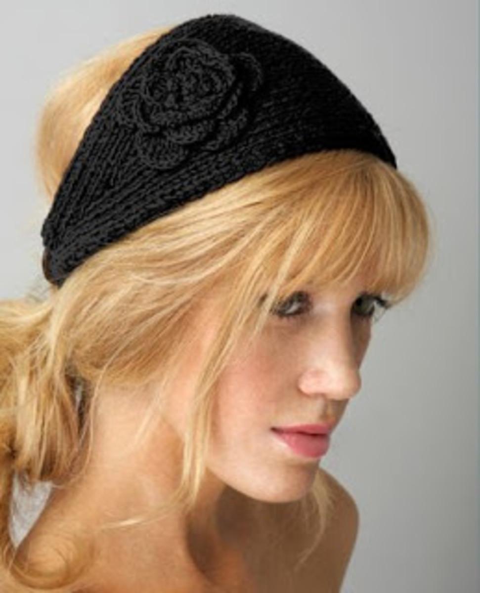 headwrap crochet pattern