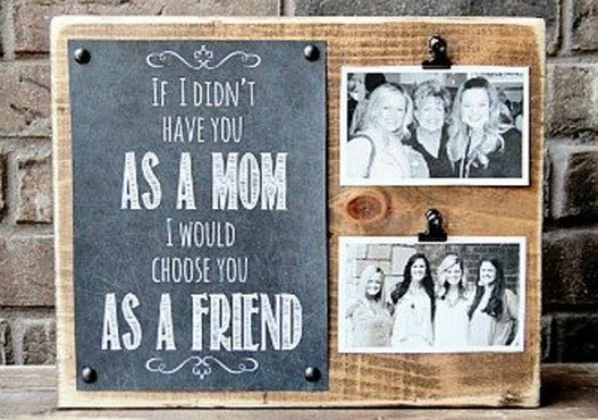 64 Thoughtful Gifts And Craft Ideas To Make For Mom Feltmagnet
