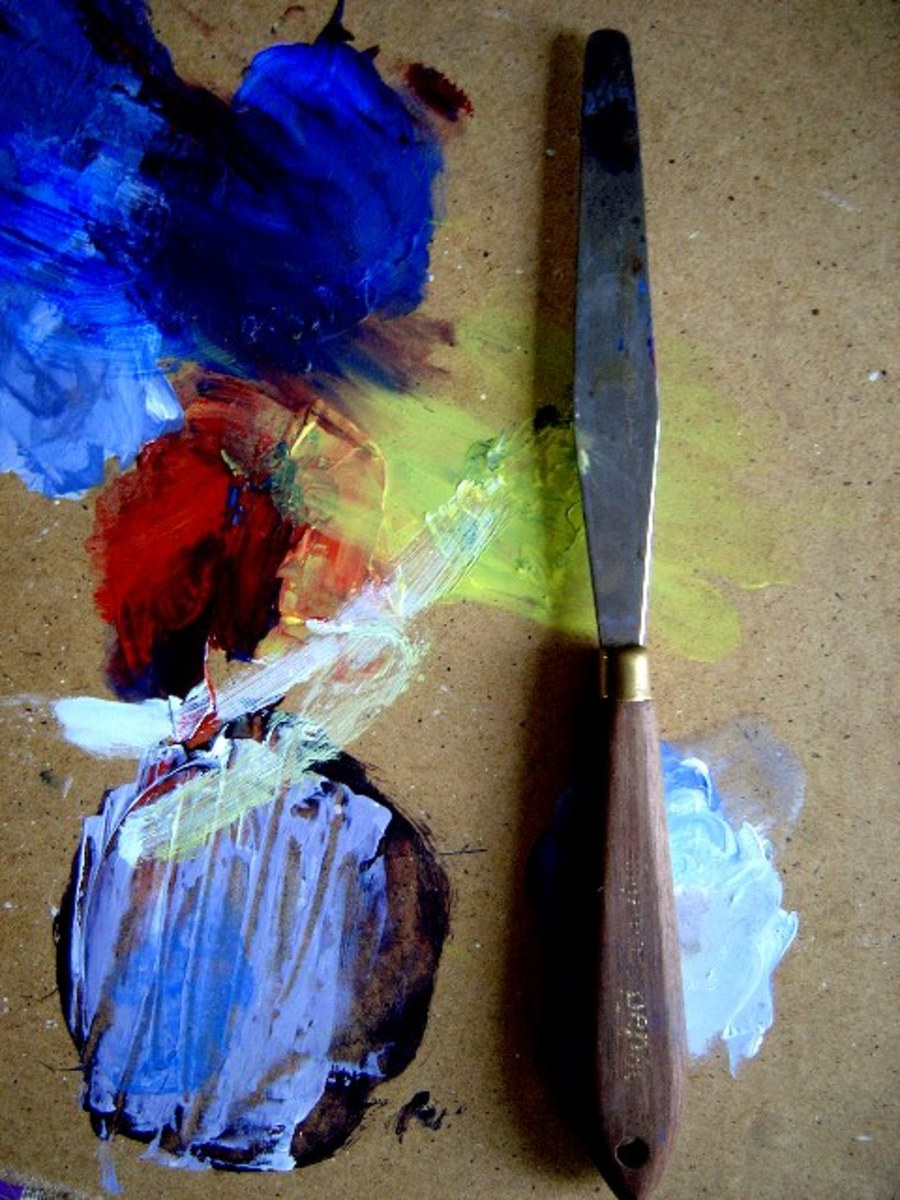 Oil painting for beginners tools and materials for Materials for canvas painting